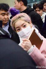 Incheon International Airport Arrival 181103 Dahyun 4