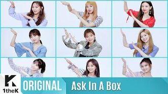 ASK IN A BOX(에스크 인 어 박스) TWICE(트와이스) Dance The Night Away