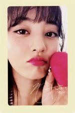Twicetagram Jihyo Photocard (Pre-Order)