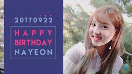 Birthday Nayeon 2017