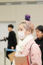 Incheon International Airport Arrival 181103 Dahyun 13