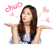 Twice Line Stickers Tzuyu 3