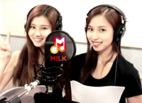 Mina and Sana recording