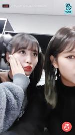 VLive 181125 JeongMo 4
