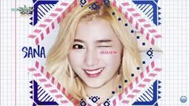 Music Bank 160429 Sana