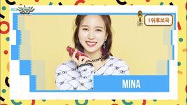 Music Bank 180427 Mina