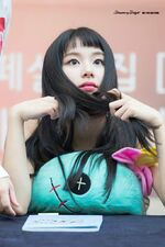 Dance The Night Away Hanam Fansign Chaeyoung 3