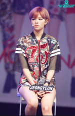 Jeongyeon Like Ooh Ahh showcase 3