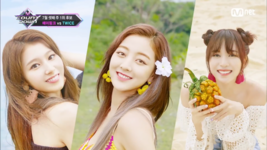 M COUNTDOWN 180719 Sana, Jihyo, & Mina
