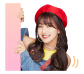Twice Line Stickers Jihyo 3
