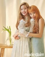Marie claire August 2018 Dahyun & Chaeyoung