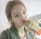 Nayeon with a mic IG Update 2