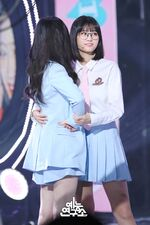 Music Core 180428 Dahyun & Momo
