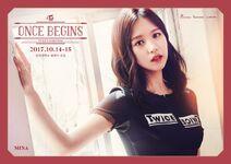 OnceBegins Fanmeeting Mina