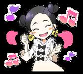 Candy Pop Line Stickers Dahyun 4
