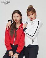 Beanpole Sport Jeongyeon & Nayeon 2