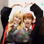 JeongMo making a heart