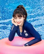 Jihyo MLB summer 17