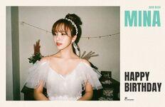 Birthday Mina 2019