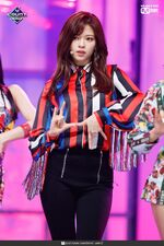 Jeongyeon Fancy MCountdown 3