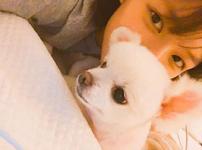 Jeongyeon and dog IG Update 2