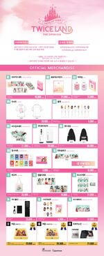 Twiceland the Opening Korea Merch