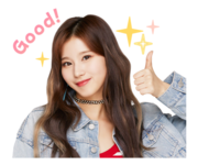 Twice Line Stickers Sana 3