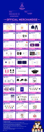 Twiceland ZONE 2 Fantasy Park Official Merchandise