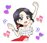 Candy Pop Line Stickers Chaeyoung 4