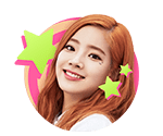 TWICEcoaster Lane 1 VLive Sticker Dahyun