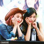 ChaeTzu at fan meet