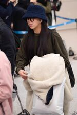 Incheon International Airport Arrival 181103 Chaeyoung 2