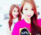 Mina and Sana selfie
