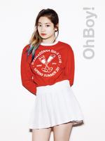 TWICE Dahyun Oh Boy promo