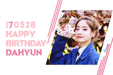 Birthday Dahyun 2017