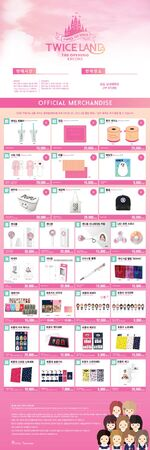 Twiceland the Opening Encore Merch