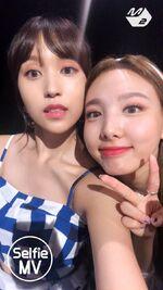 Dance The Night Away Selfie MV Mina & Nayeon