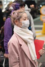 Incheon International Airport Arrival 181103 Dahyun 6