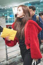 Incheon International Airport Arrival 181103 Mina 7