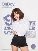 OhBoy! 9th Anniversary Jihyo