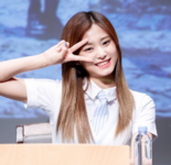 Tzuyu at Signal Fansigns