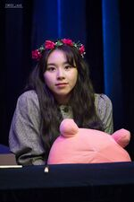 Yes Or Yes Sinchon Fansign Chaeyoung 9