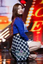M COUNTDOWN 161105 Dahyun 2