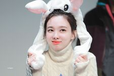 Yes Or Yes Sangnam Fansign Nayeon 3