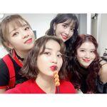 Jeongyeon, Jihyo, Momo, & Sana IG Update 181109 2