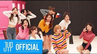 "TWICE ""Heart Shaker"" M V BEHIND"