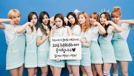 TWICE preparing Surprise Stage for 2016 MAMA