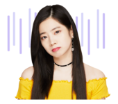 Twice Line Stickers Dahyun 4