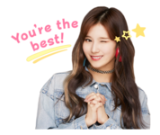 Twice Line Stickers Sana 2