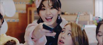 What Is Love Sana MV Screenshot